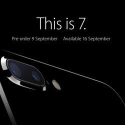 Apple: iPhone 7 & iPhone 7 Plus Pre-Order & Registration of Interest Details