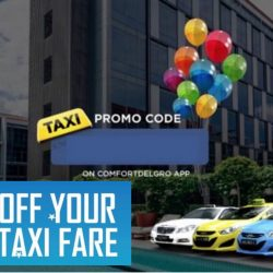 ComfortDelGro: Coupon Code for $10 OFF Your Taxi Fare After 11pm