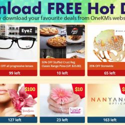 One KM: Download Voucher Deals for Pizza Hut, GNC, EyeZ Optometry & More!