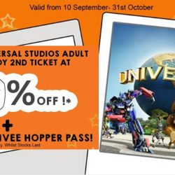 Marina Square: Purchase 1 USS Adult ticket and enjoy 30% OFF 2nd Ticket + FREE 1 Day FunVee Hopper at City Tourist Hub