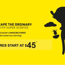 FlyScoot: Take Off Tuesday from $45 onwards to Bangkok, Hong Kong, Melbourne, Hokkaido & Many More!