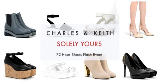 charles keith 72 hour solely yours flash sale up