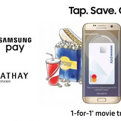 Samsung Pay: 1-for-1 Movie Treat at Cathay Cineplexes