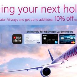 Qatar Airways: Exclusive Additional 10% Discount on Promotional Fares for DBS/POSB Cardmembers