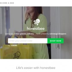 HonestBee: Coupon Code for $20 OFF Your Grocery Order with Citibank cards