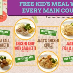 Jack's Place: FREE Kid's Meal with Every Main Course Ordered on Weekdays