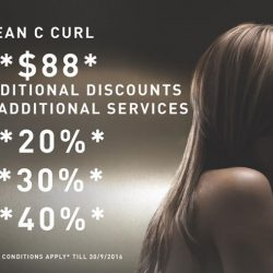 Soho by X'pect: Korean C curl at $88 + Up to 40% OFF Additional Services