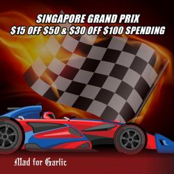 Mad for Garlic: Present FB Post to enjoy up to $30 OFF