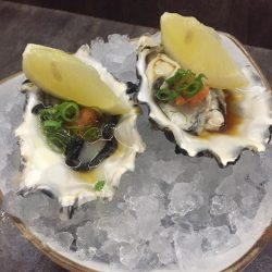 The Sushi Bar Dining: 1-for-1 Oyster Ponzu deal