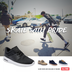 INLINEX: Buy the latest collection of Globe Skate Shoes at 20% OFF