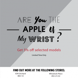 EpiCentre: Get 5% OFF Selected Apple Watches