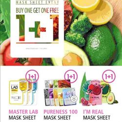Tony Moly: Jurong Point Store Opening Special 1-for-1 Mask Sheet