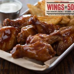 Wing Zone: Wings Wednesday - 50 Cents for One Wing