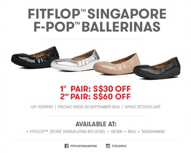 01e67e6016604 FitFlop  Selected F-POP™ BALLERINAS up to  60 OFF Till 30 Sep 2016 ...