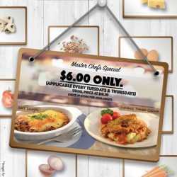 Alexandra Retail Centre: Freshly made Triple Cheese Beef Lasagna / Sundried Tomato Chicken at ONLY $6 (UP: $10.30) at Spinelli Coffee Company
