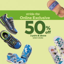 Stride Rite/Petit Bateau: Online Exclusive Offers Up to 50% OFF