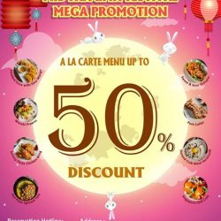 XIAO CHU ZI: Mid-Autumn Festival Mega Promotion up to 50% OFF Ala Carte Menu