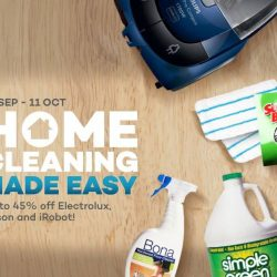 Lazada: Coupon Code for 10% OFF Cleaning Appliances and Products