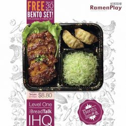RamenPlay: FREE Bento with 4 Bento Sets Purchased