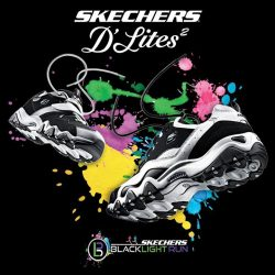 Sketchers: 1-for-1 Blacklight Run Tickets worth $65 each for the 1st 50 customers in each Skechers store
