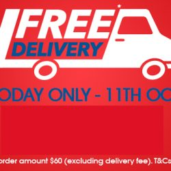 NTUC FairPrice: Coupon Code for FREE Delivery with Min. $60 Spend