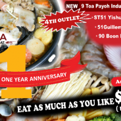 Soi 51 Mookata: All-You-Can-Eat Mookata Buffet at $18 NETT
