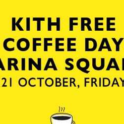 Marina Square: Free coffee at Kith Cafe this Friday!