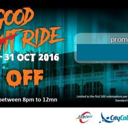 ComfortDelGro: Coupon Code for $6 OFF Your Taxi Fare After 8pm