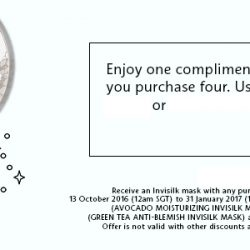 Sephora: Coupon Code for FREE Invisilk Mask when You Purchase 4