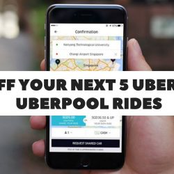 Uber: Coupon Code for $3 OFF Your Next 5 uberX or uberPOOL rides