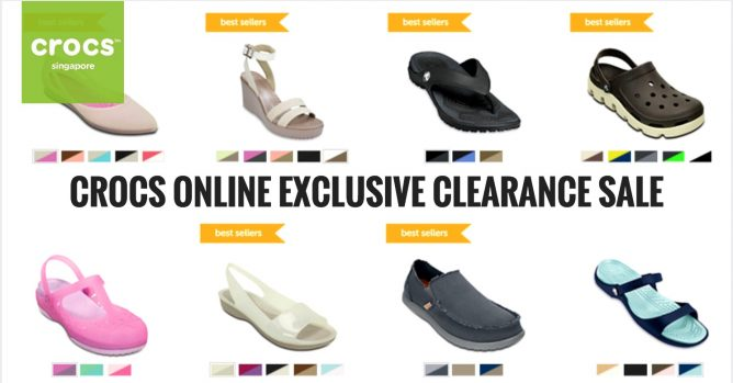 0e6211a13 Crocs  Online Exclusive Clearance Sale Up to 50% OFF + Up to ...