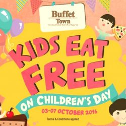 Buffet Town: Kids Eat FREE with Each Paying Adult
