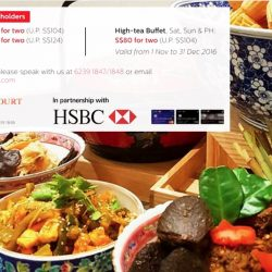 Swissotel Merchant Court: $80-for-Two Buffet Offers at Ellenborough Market Cafe with HSBC Cards