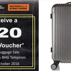 BHG: Caterpillar, National Geographic and Merrell Backpacks & Luggage Sale Up to 50% OFF + Receive a $20 BHG Voucher