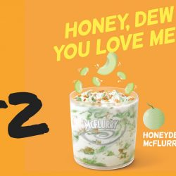 McDonald's: Flash Post to get Honeydew McFlurry at $2