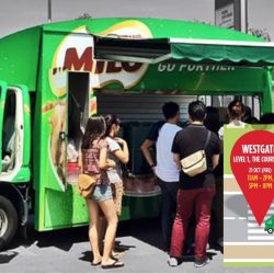 MILO Singapore: MILO Van will be at Westgate this Friday!
