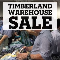 Timberland & Vans: Warehouse Sale up to 70% OFF