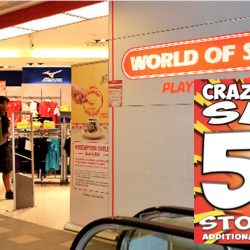 World of Sports: Crazy Sports Sale 50% OFF Storewide + Additional 5% For Members!