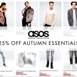 ASOS: Autumn Sale - 25% off Autumn Essentials!