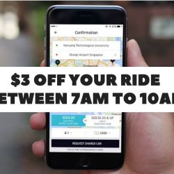 Uber: Coupon Code for $3 OFF 5 Rides in the Morning!