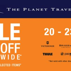 The Planet Traveller: 20% OFF Storewide & Up to 70% OFF Selected Travel Goods