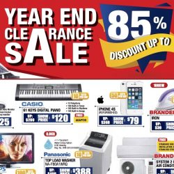Singapore Expo: Consumer Electronics Expo 2016 with Up to 85% OFF Electronics Products