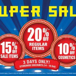BHG: Super Sale with 20% Off Regular Items, 15% Off Sale Items & 10% Off Cosmetics