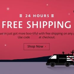 Sephora.sg: Coupon Code for FREE Shipping Today Only!