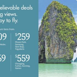 SilkAir: Exclusive Mastercard All-in Return Fares from $189 to Langkawi, Phuket, Phnom Penh, Xiamen & More