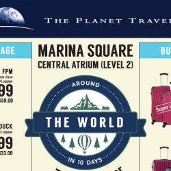 The Planet Traveller: Around The World in 10 Days Travel Goods Fair