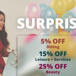 Groupon: Coupon Code for up to 25% OFF Beauty, Leisure & Services and Dining Deals