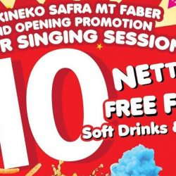 Karaoke Manekineko: Grand Opening Promotion at Safra Mount Faber – 2 Hour Singing Session for $10 Nett!