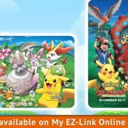 EZ-Link: Limited Edition Collectible Pokemon EZ-Link Cards Launch!