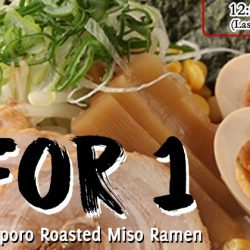 Daikokuya Ramen Dining: 1-for-1 Signature Sapporo Roasted Miso Ramen